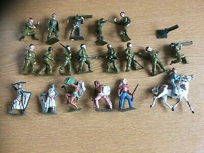 Cherilea Metal Figures X 19. Can Be Separated • 35£