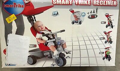 Smart Trike Recliner 4 In 1 Grey/red 6-24 Months  (opened Box) • 25£