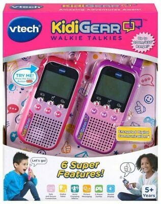 VTech 518553 KidiGear Walkie Talkies, Pink • 20£