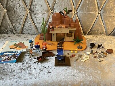 Playmobil Mc Larens Goldmine 3802 Playset With Figures Vintage Toy Boxed Geobra • 36.69£