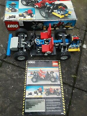 Vintage Lego Technic 8860 Car Chassis • 28£