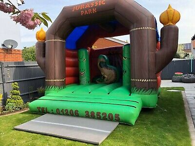 Used Jurassic Park Commercial Bouncy Castle • 400£