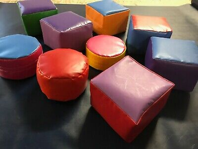 Soft Play 9 Set Mixed Colours ** NEW IN STOCK READY TO GO • 65£