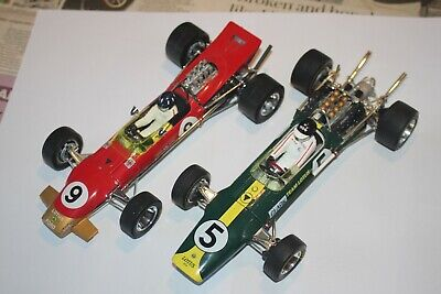 Pair Lotus 49s In 1:18 By Quartzo/Exoto (Clark/Hill) Flawed Unboxed • 100£