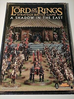 LOTR Shadow In The East Strategy Guide - Lord Of The Rings Warhammer • 8.99£