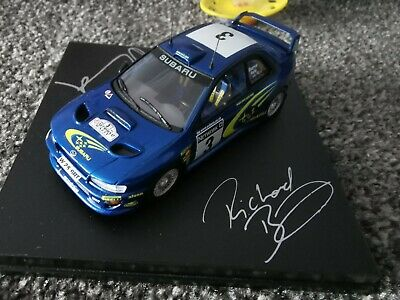 Trofeu 1:43 Richard Burns Robert Reid 2000 Network Q Subaru Impreza W25 SRT • 50£