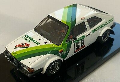 VW Scirocco Group 2 Honrath 1980 Portugal Rallye Rally 1/43 Very Rare • 100£