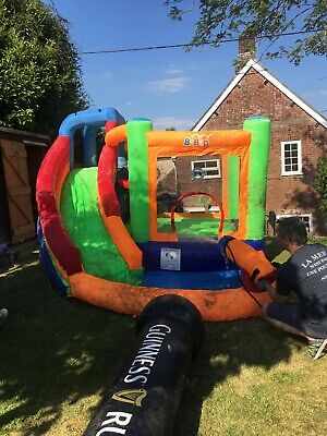 Bebop Bouncy Castle With Slide And Water Cannon • 158£