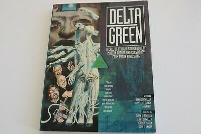 Delta Green Sourcebook (Modern Setting Call Of Cthulhu RPG) (H. P. Lovecraft) • 30£