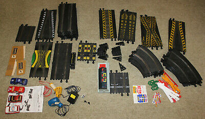 Scalextric Track With Controllers, Power Supply And Cars Vintage • 59.95£