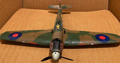 Corgi Aviation Archive, 1/32 Hawker Hurricane. Displayable, Missing Some Parts. • 6£