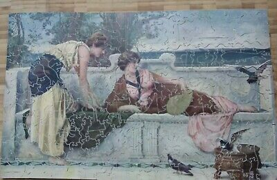 Vintage Wooden Jigsaw Puzzles • 16£