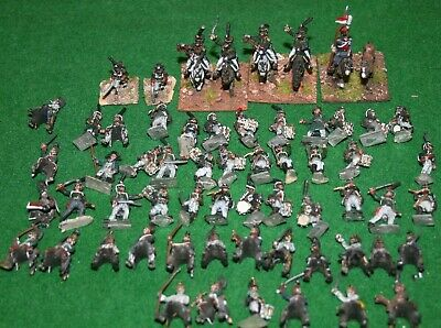 18mm 65 X Pro- Painted Napoleonic Russian Troops Mixed Makes • 42£