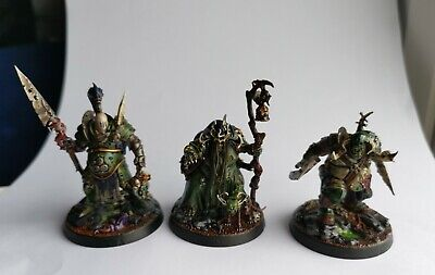 Warhammer Age Of Sigmar Beastgrave Underworlds The Wurmspat  Nurgle Pro Painted  • 9.99£