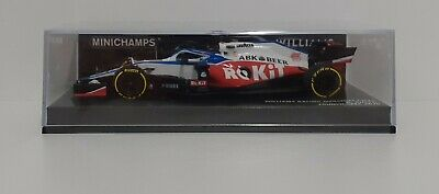 Model Car Scale 1:43 MINICHAMPS F1 Williams Mercedes Russell 2020 Static • 94.81£