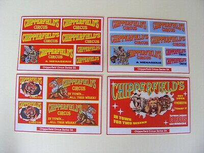 Chipperfield Circus Stickers – Series 5a • 2.50£