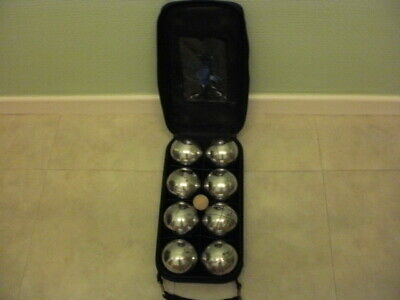 Set Of 8 Crome French Boules • 15£