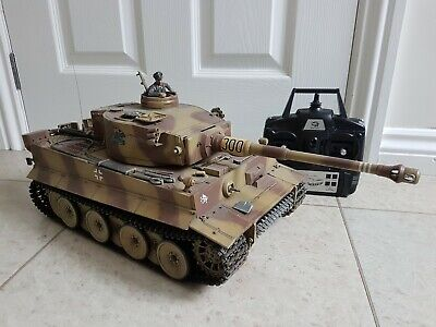 Heng Long 1/16 Tiger 1 With Piranha Infra Red Battle System + Custom Paint • 160£