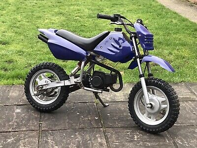 Mini Pit Bike Petrol 50cc Kids Off Road Dirt Bike • 62£