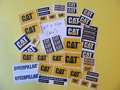 Modellers Construction  Jumbo Sticker Collection 'cat' (mx) • 2.50£