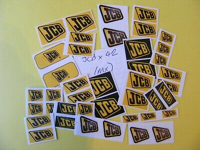 Modellers Construction Jumbo Sticker Collection 'jcb' (mx) • 2.50£