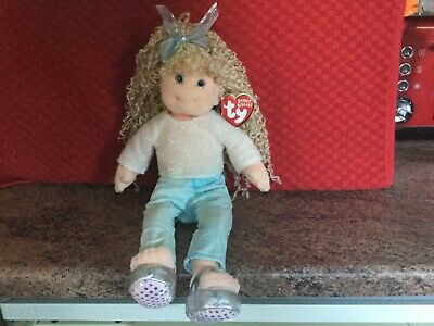 Rare Ty Beanie Boppers Sassy Star With Tags, Soft Toy Doll, Used • 4.99£