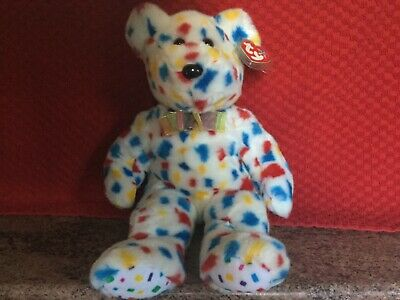 Rare Ty Beanie Buddy TY 2K With Tags, Soft Toy Bear, Used • 4.99£