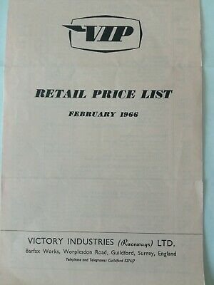 Vip 1966 Retail Price List • 4£