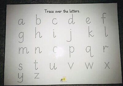 Letter And Number Tracing Activities, Primary School, Educational, Learning • 2.50£