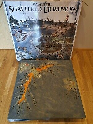 Warhamer Age Of Sigmar Shattered Dominion Realm Of Battle Gameboard • 85£