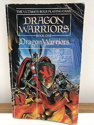 Dragon Warriors, Book One 1985 Edition Paperback The Ultimate Role-Playing Game • 8£