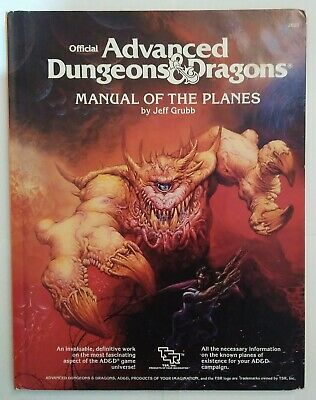 AD&D 2nd Edition Manual Of The Planes HB • 30£