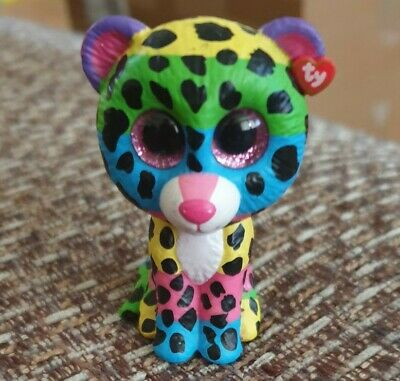 Ty Mini Boos Collectibles Dotty LEOPARD Rare • 0.99£