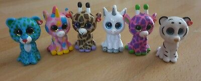 Ty Mini Boos Collectibles LEOPARD And Unicorn Bundle  • 3.99£