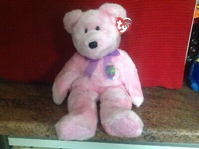 Rare Ty Beanie Buddy EGGS With Tags, Soft Toy Bear, Used • 4.99£