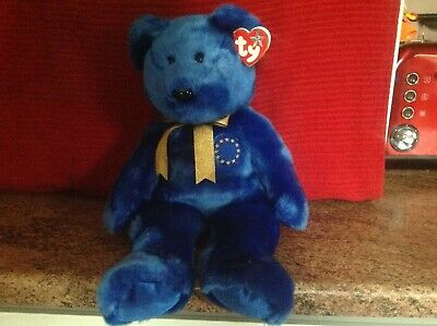 Rare Ty Beanie Buddy UNITY With Tags, Soft Toy Bear, Used • 4.99£