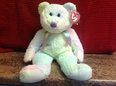 Rare Ty Beanie Buddy GROOVY With Tags, Soft Toy Bear, Used • 4.99£