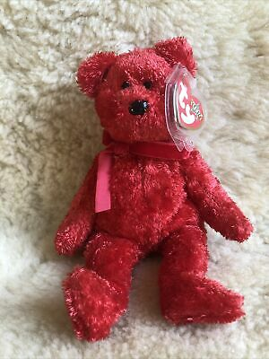 Retired TY Beanie Baby Bear ~  Sizzle 2001 ~ NWT • 2.99£