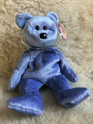 Retired TY Beanie Baby Bear ~  Clubby 2 1999 ~ NWT • 2.99£