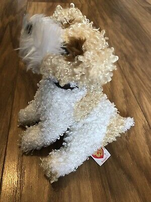 Ty | Scrappy | Curly Haired Dog Plush | Original Beanie | 2003 | 6  Stuffed • 1.99£