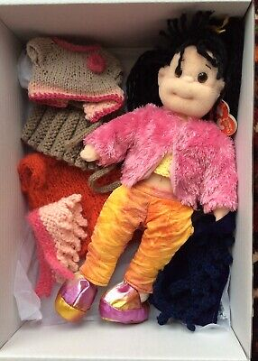 Ty Beanie Bopper Darling Debbie - With Extra Clothes - Boxed And Ready To Gift! • 10£