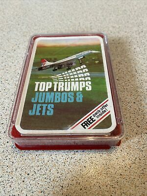VINTAGE 1970s JUMBOS AND JETS TOP TRUMPS • 4£