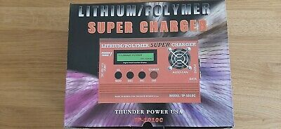 Thunder Power Lipo Charger. Model TP 1010C. Used.  • 40£