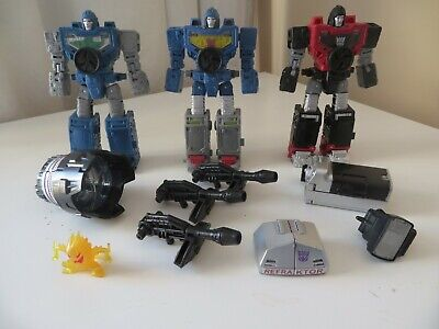 Transformers Hasbro Siege - Refraktor Reconnaissance Team 3 Pack -As New/Unboxed • 70£