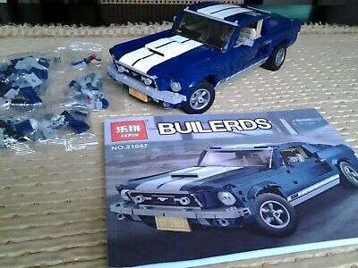 Lepin  Lego Creator 10265 Equivalent Ford Mustang • 50£