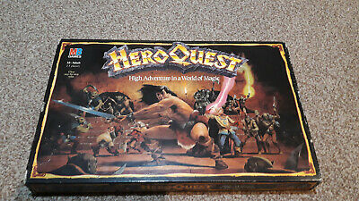 Hero Quest Vintage Board Game (possibly Incomplete) • 67£