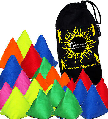 Tri-It Pyramid Juggling Sacks - Beginners Cheap Juggling Balls • 1.80£