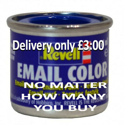 Revell Hobby Model Paints 14ml - Delivery Only £3.00 No Matter How Many You Buy • 2.50£