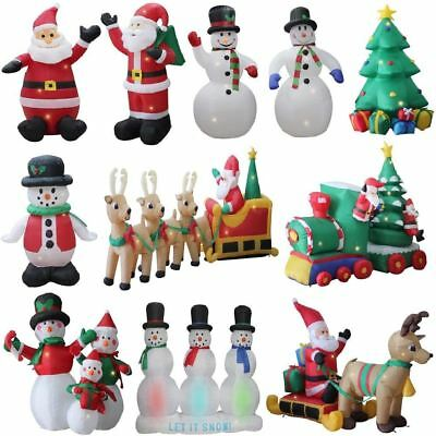 Self Inflating Inflatable Electric Giant Indoor Outdoor Christmas Figure Xmas • 39.99£
