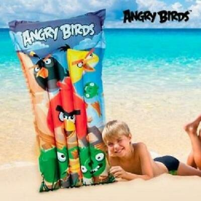 Joblot Of Trade Pool Beach Toys Angry Birds Childrens Lilo Mat Bulk (box Of 12) • 36£